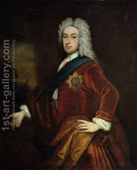 Portrait of Lord Burlington by (after) Kneller, Sir Godfrey - Reproduction Oil Painting