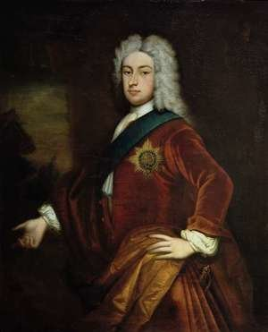 Rococo painting reproductions: Portrait of Lord Burlington