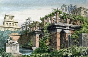 Neo-Classical painting reproductions: The Hanging Gardens of Babylon