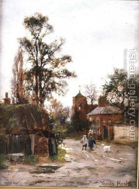 Going to the Village by Henry John Yeend King - Reproduction Oil Painting