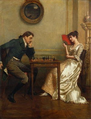 Famous paintings of Fans: A Game of Chess