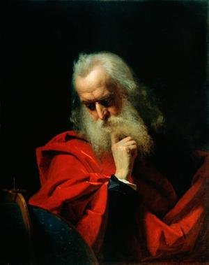 Neo-Classical painting reproductions: Galileo Galilei 1564-1642