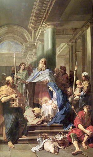 Reproduction oil paintings - Jean-baptiste Jouvenet - The Presentation in the Temple