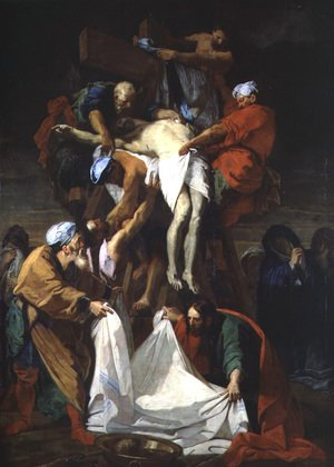 Reproduction oil paintings - Jean-baptiste Jouvenet - The Descent from the Cross