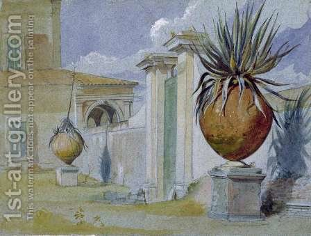 Villa Massimi Rome by Harry John Johnson - Reproduction Oil Painting