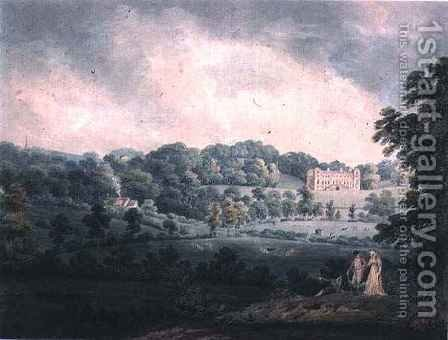 Hagley Hall Stourport by H.F. James - Reproduction Oil Painting
