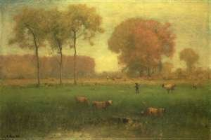 George Inness Jnr. reproductions - Indian Summer