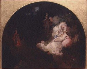 Reproduction oil paintings - Robert Huskisson - There Sleeps Titania