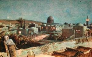 Jerusalem during Ramazan