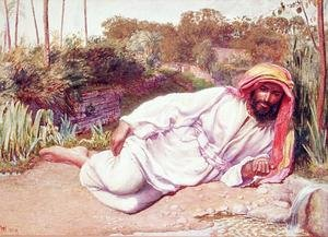 Arab Resting by a Stream
