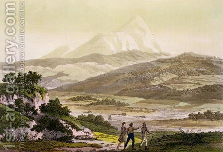 Mount Cayambe Ecuador by (after) Humboldt, Friedrich Alexander, Baron von - Reproduction Oil Painting