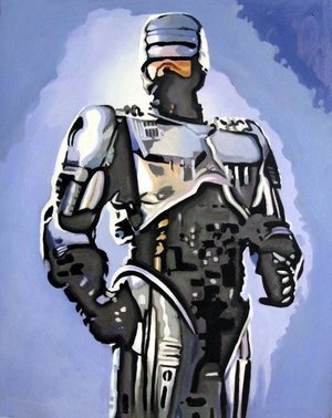 Reproduction oil paintings - Pop Art - Robocop
