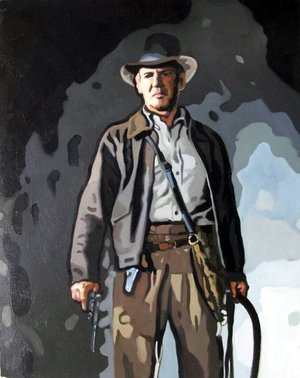 Reproduction oil paintings - Pop Art - Indiana Jones