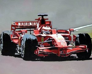 Reproduction oil paintings - Pop Art - Formula 1 Ferrari