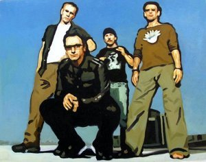 Reproduction oil paintings - Pop Art - U2