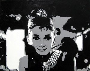 Reproduction oil paintings - Pop Art - Audrey Hepburn