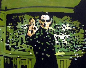 Reproduction oil paintings - Pop Art - Neo - Matrix - Keanu Reeves