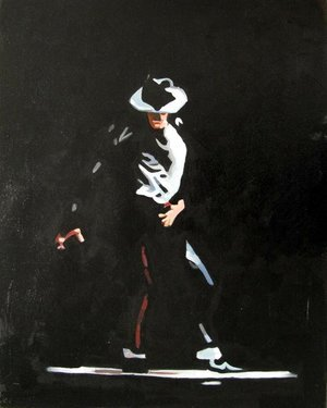 Reproduction oil paintings - Pop Art - Michael Jackson - Smooth Criminal