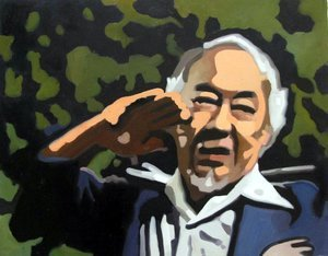 Reproduction oil paintings - Pop Art - Karate Kid - Master