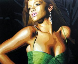 Reproduction oil paintings - Pop Art - Rihanna