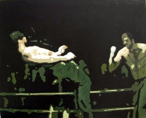 Reproduction oil paintings - Pop Art - Fighting