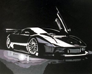 Reproduction oil paintings - Pop Art - Sports Car