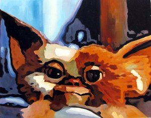 Reproduction oil paintings - Pop Art - Gremlins - Gizmo