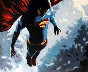 Reproduction oil paintings - Pop Art - Superman