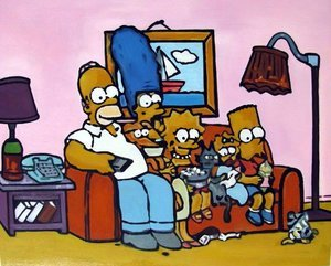 Reproduction oil paintings - Pop Art - The Simpsons