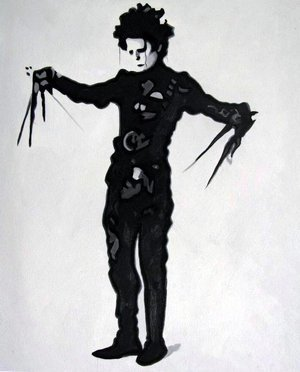 Reproduction oil paintings - Pop Art - Edward Scissorhands
