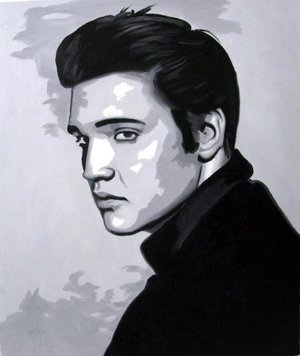 Reproduction oil paintings - Pop Art - Elvis Presley