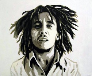 Reproduction oil paintings - Pop Art - Bob Marley