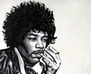 Reproduction oil paintings - Pop Art - Jimi Hendrix