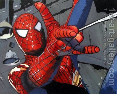 Pop Art: Spiderman 2 - reproduction oil painting