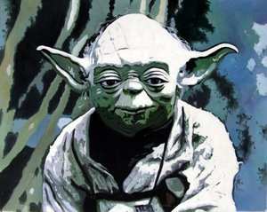 Reproduction oil paintings - Pop Art - Star Wars - Yoda