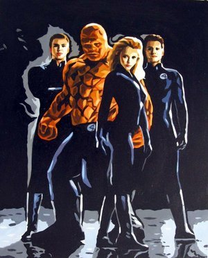 Reproduction oil paintings - Pop Art - The Fantastic Four