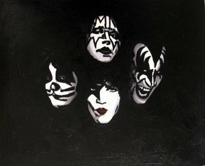 Reproduction oil paintings - Pop Art - Kiss