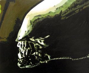 Reproduction oil paintings - Pop Art - Alien