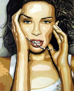 Reproduction oil paintings - Pop Art - Kylie Minogue