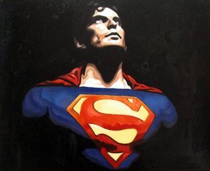 Reproduction oil paintings - Pop Art - Superman 2