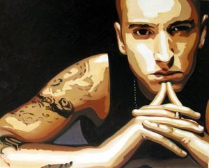 Reproduction oil paintings - Pop Art - Eminem