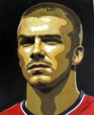 Reproduction oil paintings - Pop Art - David Beckham