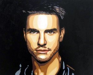 Reproduction oil paintings - Pop Art - Tom Cruise