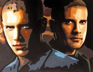 Reproduction oil paintings - Pop Art - Prison Break