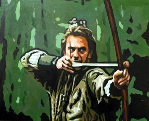 Reproduction oil paintings - Pop Art - Robin Hood - Kevin Costner