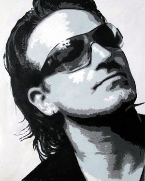 Reproduction oil paintings - Pop Art - U2 - Bono