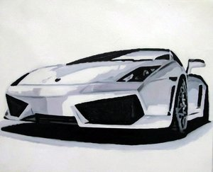 Reproduction oil paintings - Pop Art - Lamborghini