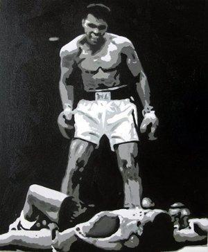 Reproduction oil paintings - Pop Art - Mohammed Ali