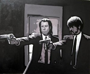 Reproduction oil paintings - Pop Art - Pulp Fiction