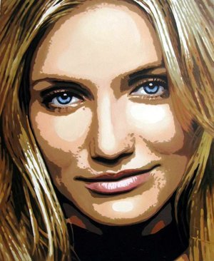 Reproduction oil paintings - Pop Art - Cameron Diaz